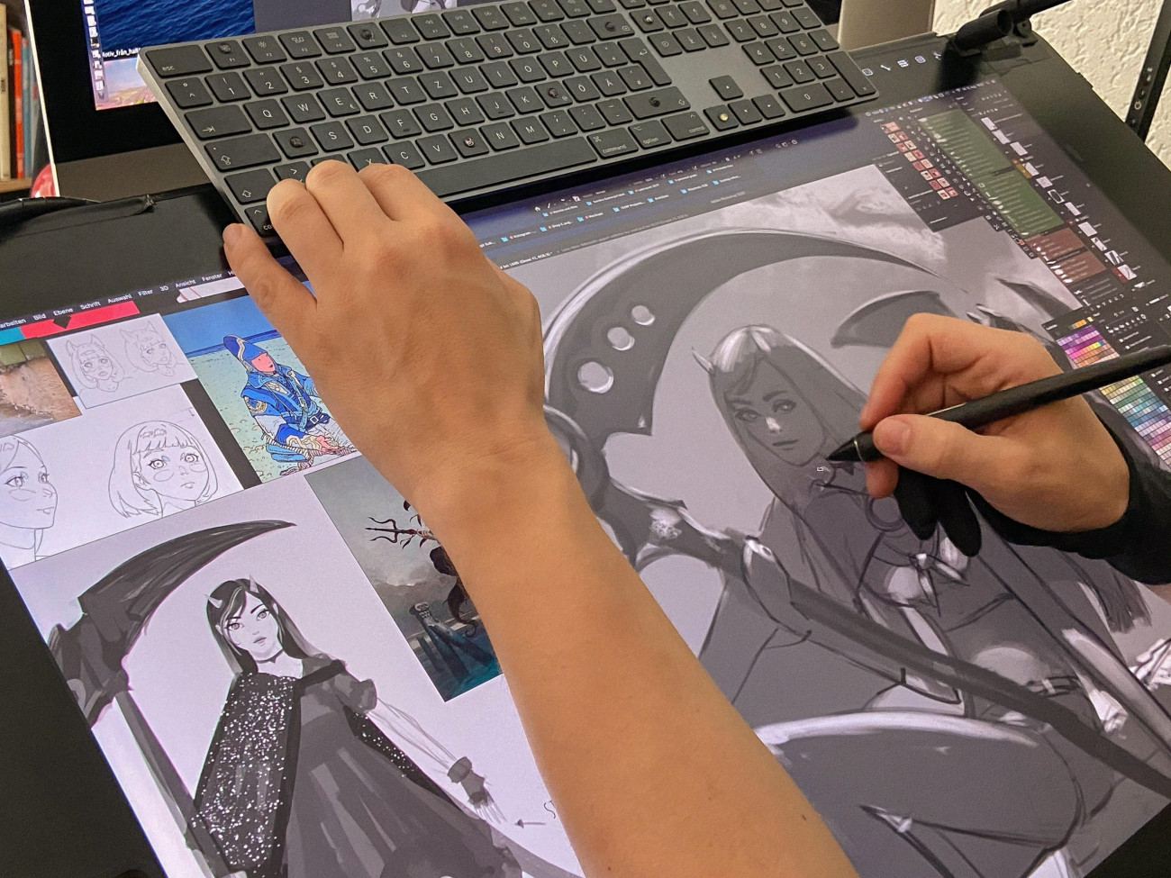 Ars Fantasio Oliver Wetter, Luna & Nova