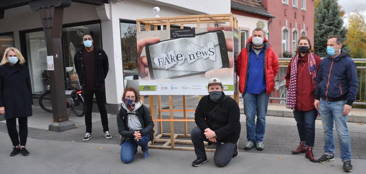 Ausstellung Fake-News, Ausstellung Fake-News Ausstellungseröffnung Bad Kreuznach