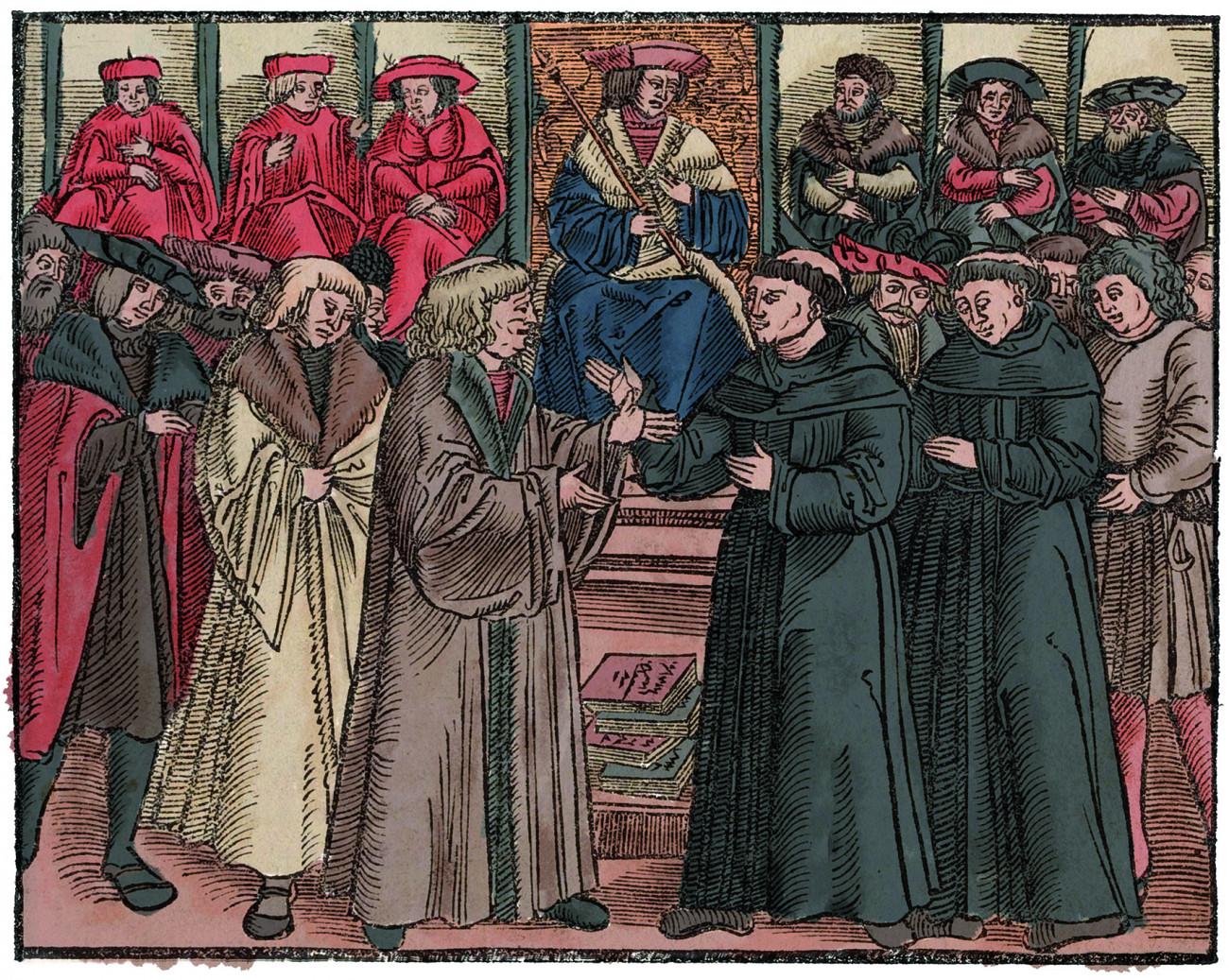 Hier stehe ich. Gewissen und Protest – 1521 bis 2021, Hier stehe ich. Gewissen und Protest – 1521 bis 2021 Luther vor Kaiser Karl V. auf dem Reichstag in Worms 1521