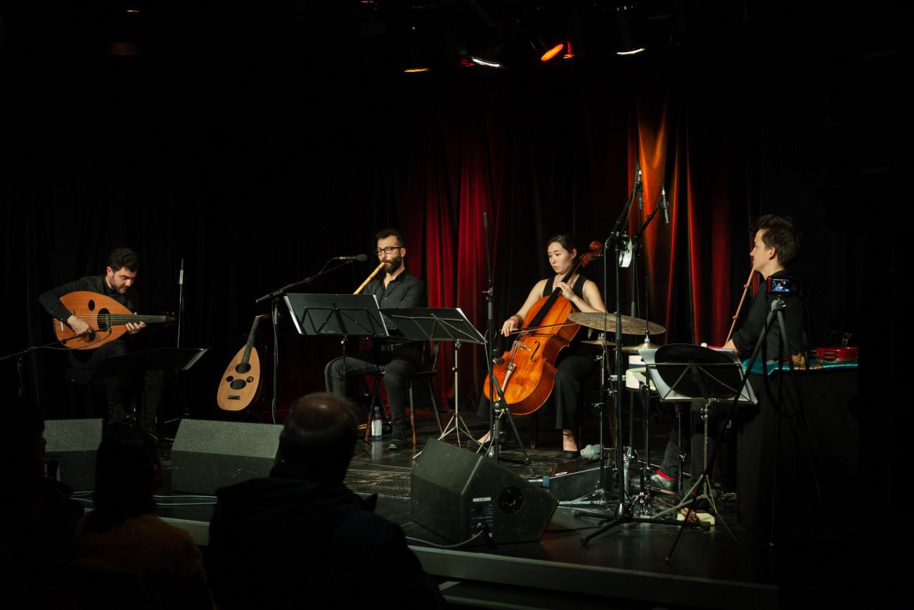 Saif AL-Khayyat, AL-KHAYYAT Quartett Mechthild Schneiders