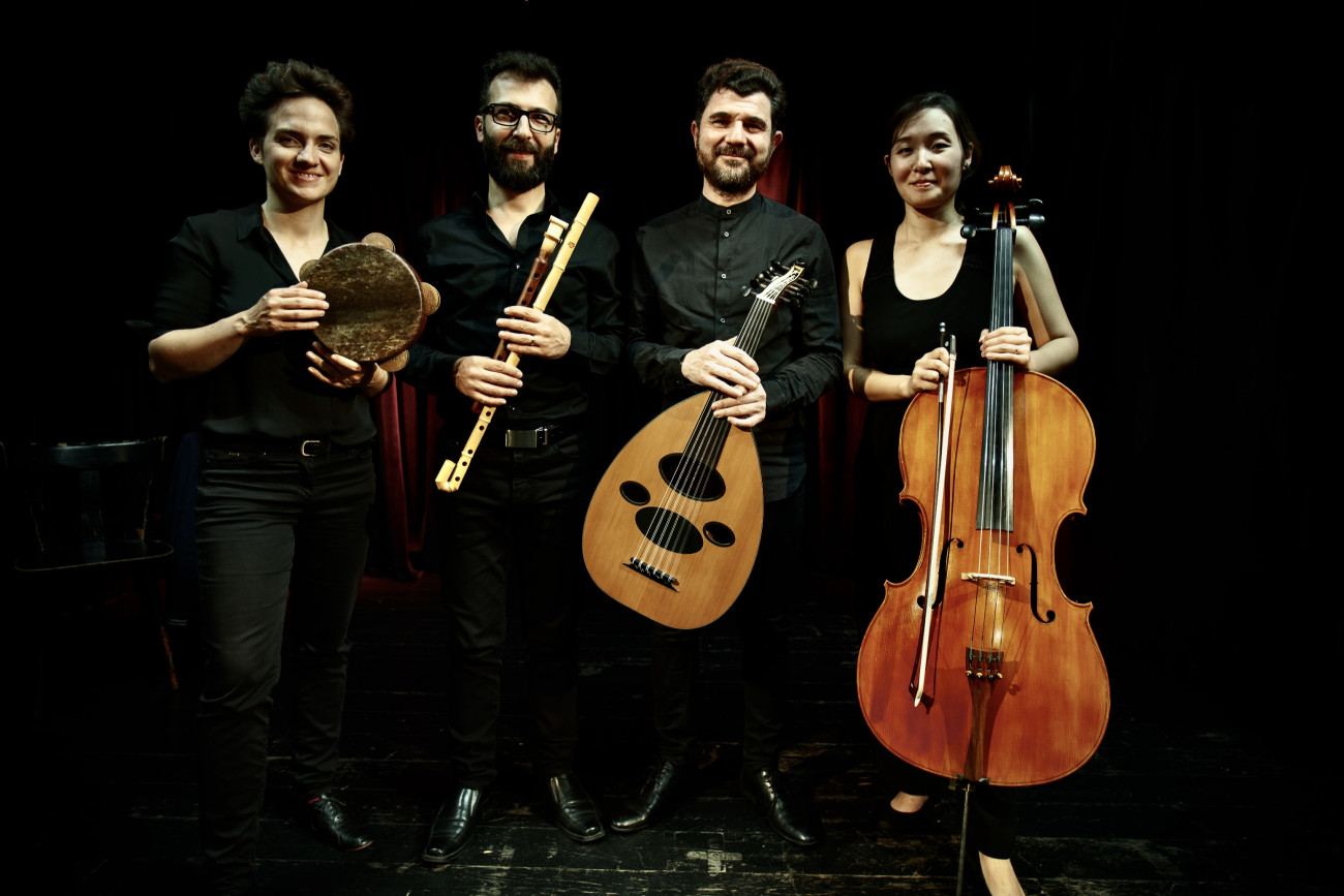 Saif AL-Khayyat, AL-KHAYYAT Quartett Michal Stolorz
