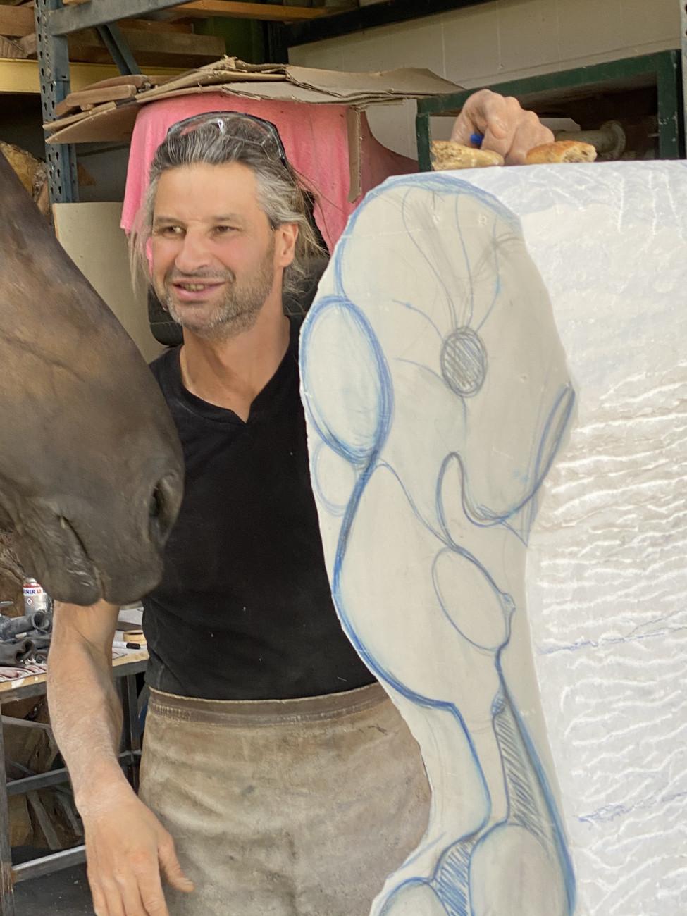 Bildhauer Peter Brauchle, Licht des Nordens Peter Brauchle