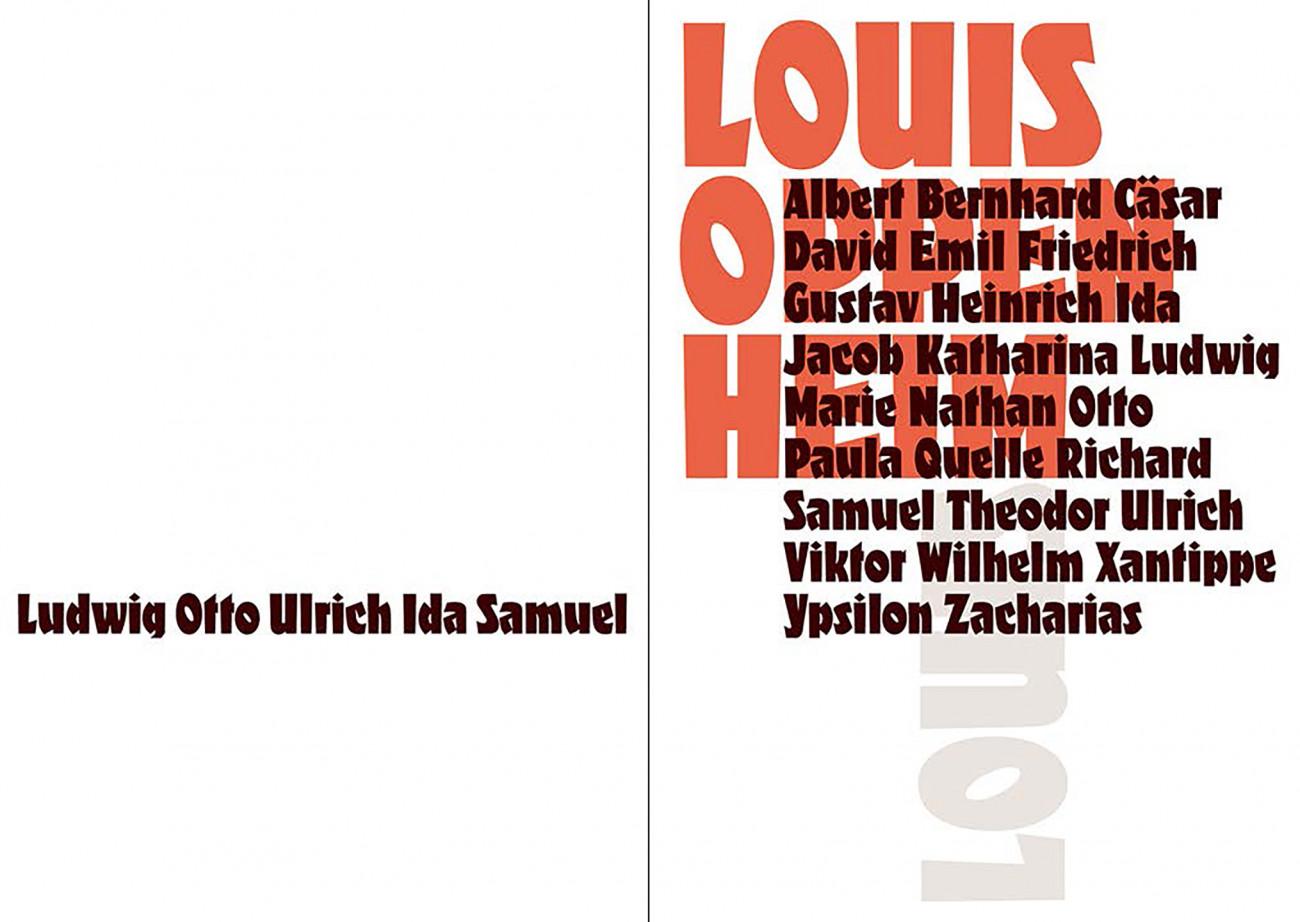 Frank-Joachim Grossmann, Louis Dokumentation