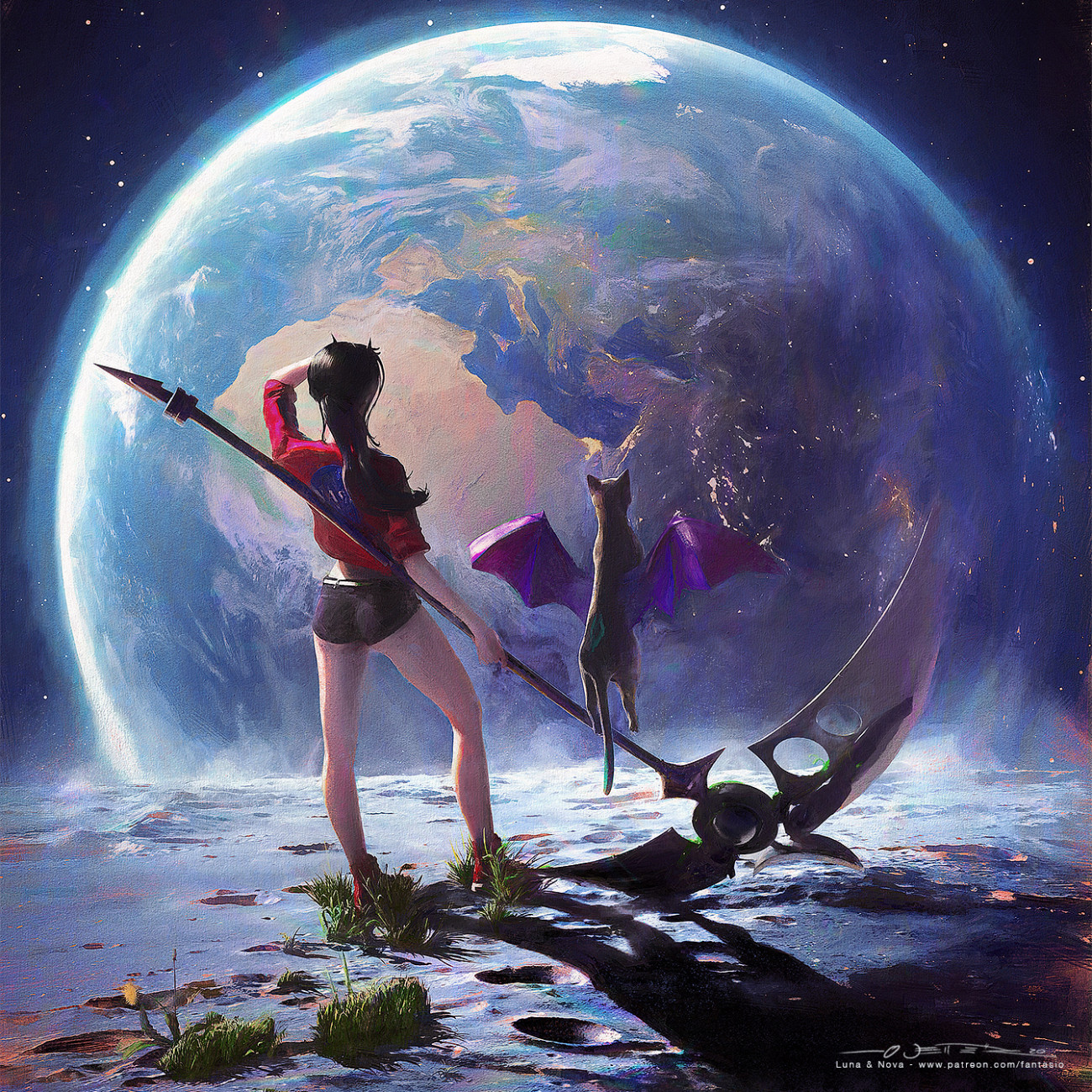 Ars Fantasio Oliver Wetter, Luna & Nova II