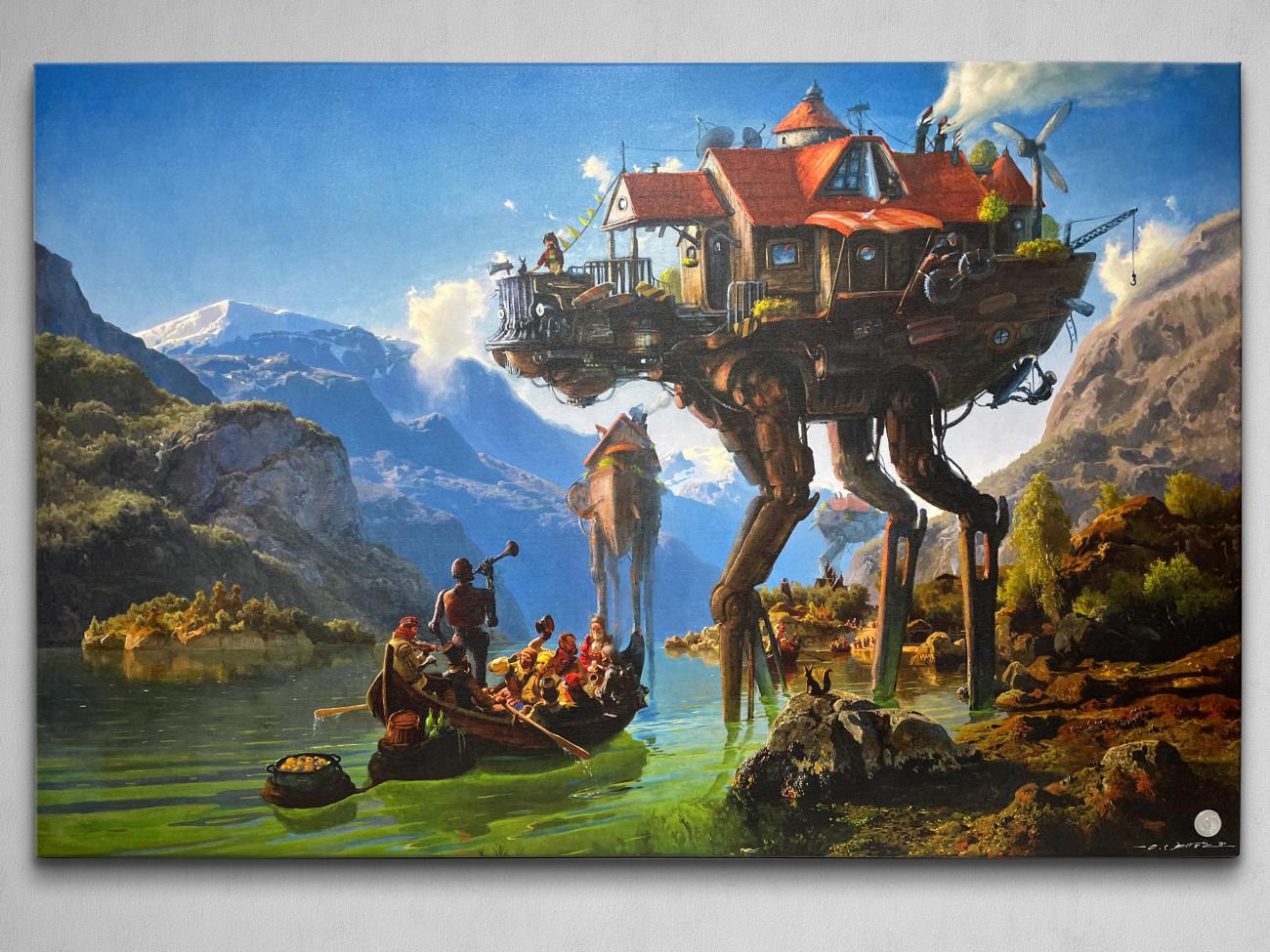 Ars Fantasio Oliver Wetter, Ancient Kaiju Projekt