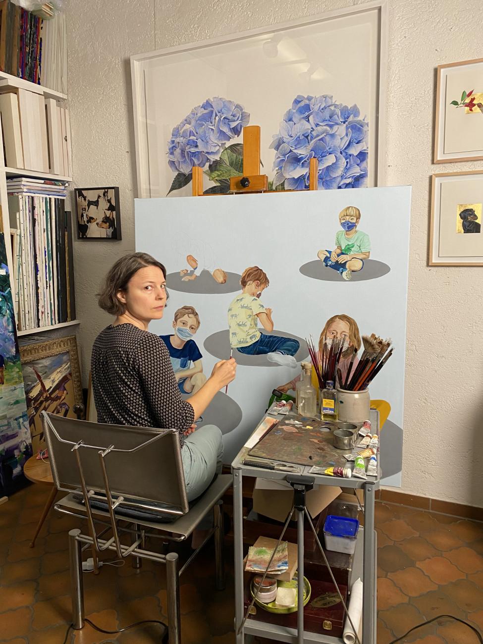 Sabine Steimer, Distance Karol Rousin