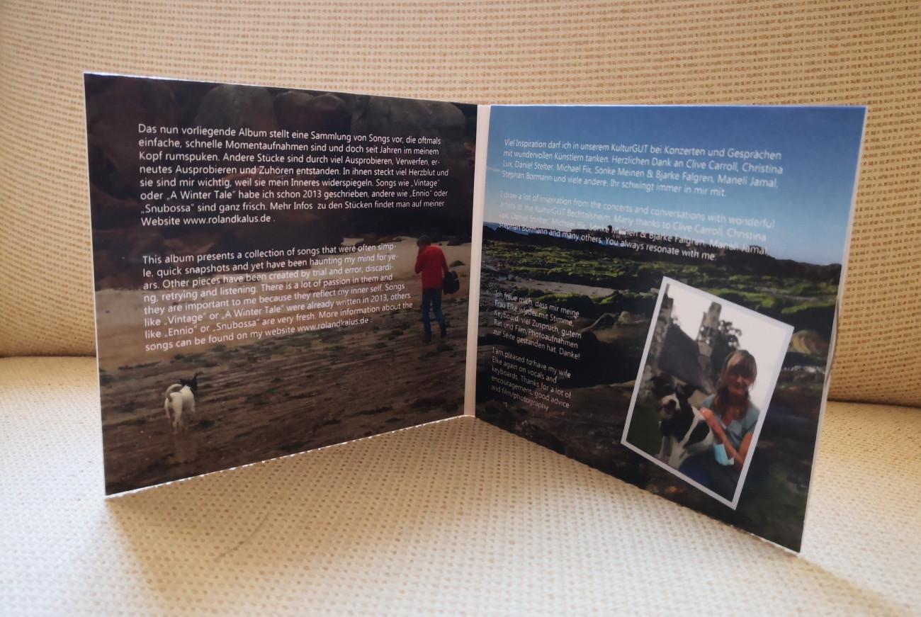 "Roland Kalus, CD ""Little Autumn Blue"" Roland Kalus & Elke Diepenbeck"