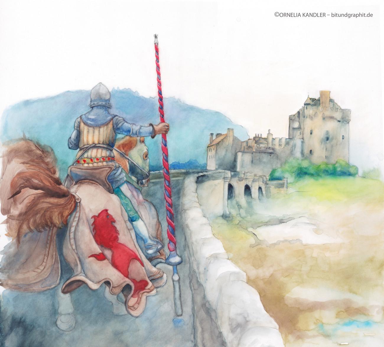 Cornelia Kandler – bitundgraphit.de, Illustrationen mit Bleistiftzeichnungen und Aquarellen Cornelia Kandler
