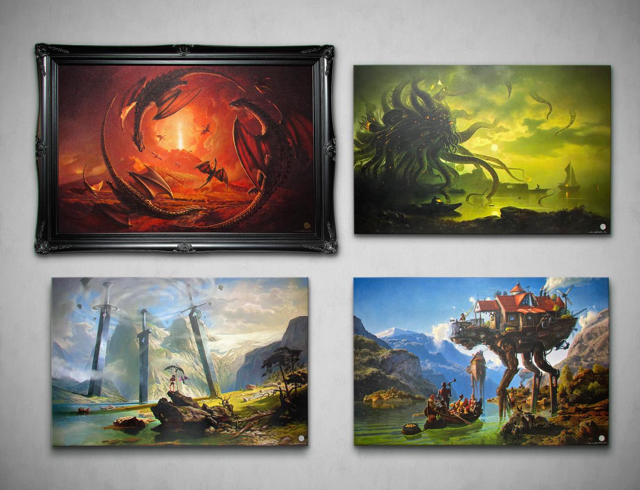 Ars Fantasio Oliver Wetter, Ancient Kaiju Projekt Oliver Wetter