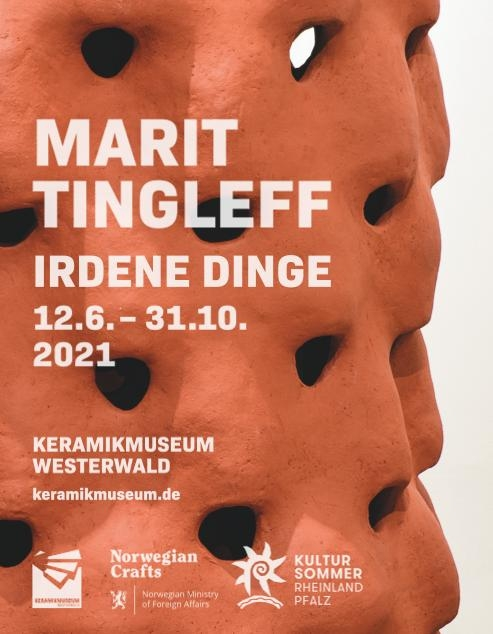 Plakat Ausstellung Marit Tingleff Keramikmuseum