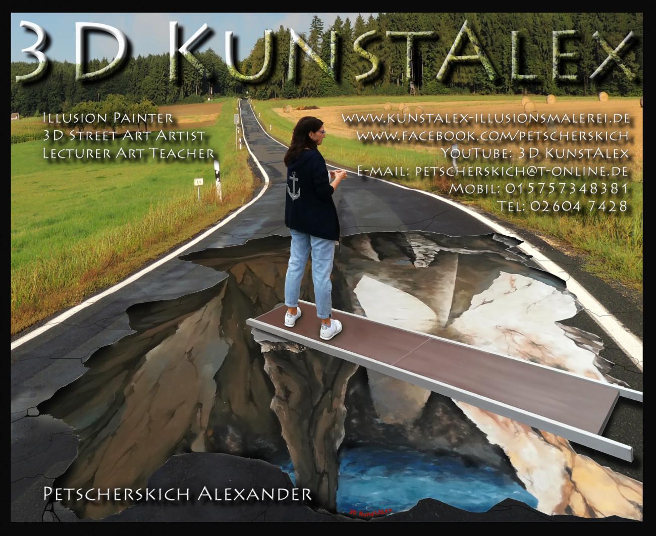 3D KunstAlex ~ Alexander Petscherskich, 3D KunstAlex ~ 3D Projekt Petscherskich Alexander
