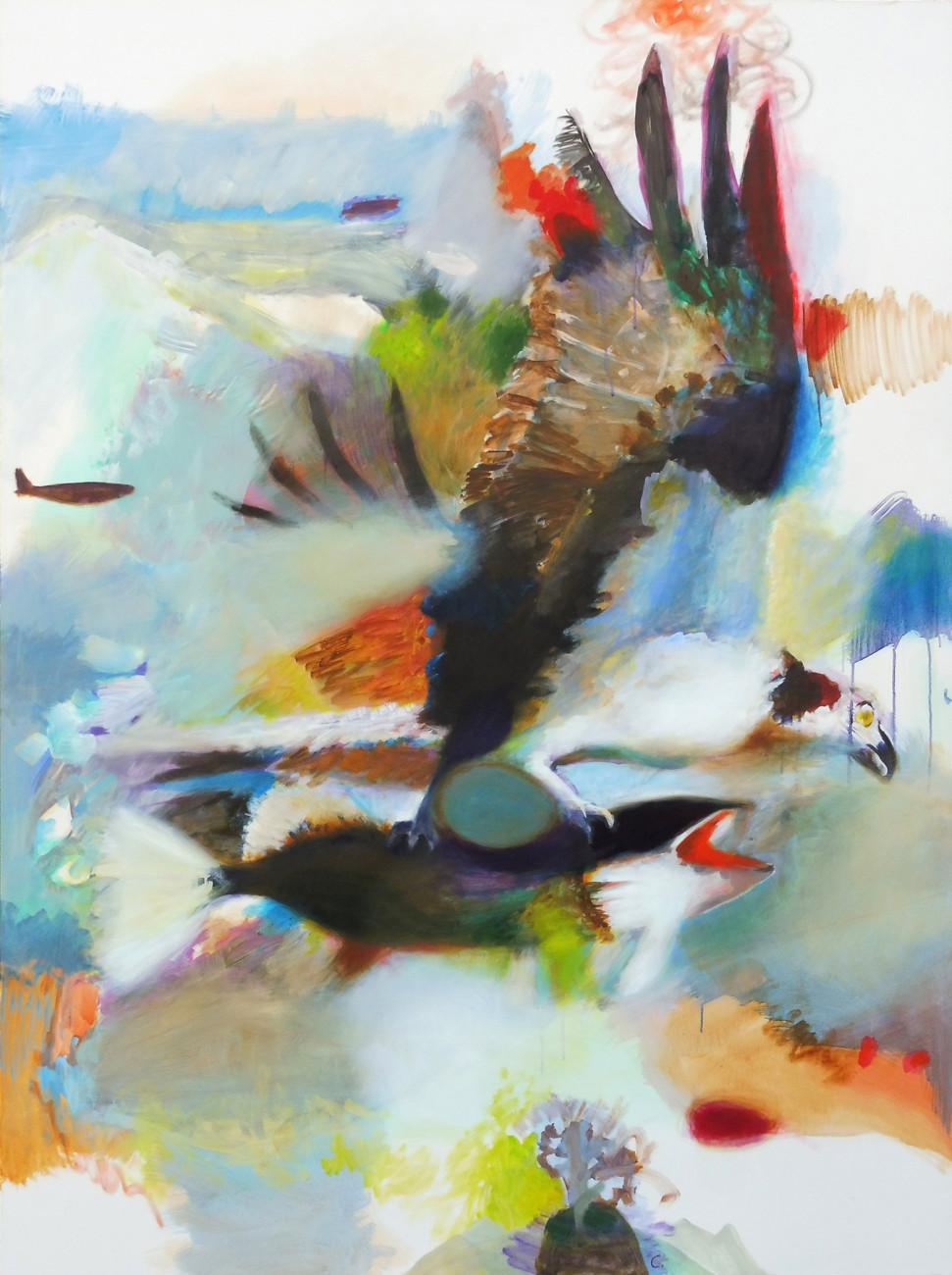 Christian Uhl  –  uhl-kunst, Vogelbild 5 – Albatrosse, Enten, Meise, Falke uhl-kunst