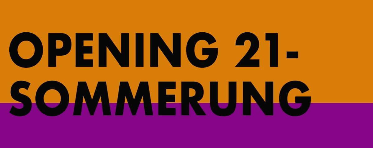 Logo Opening 21 - Sommerung
