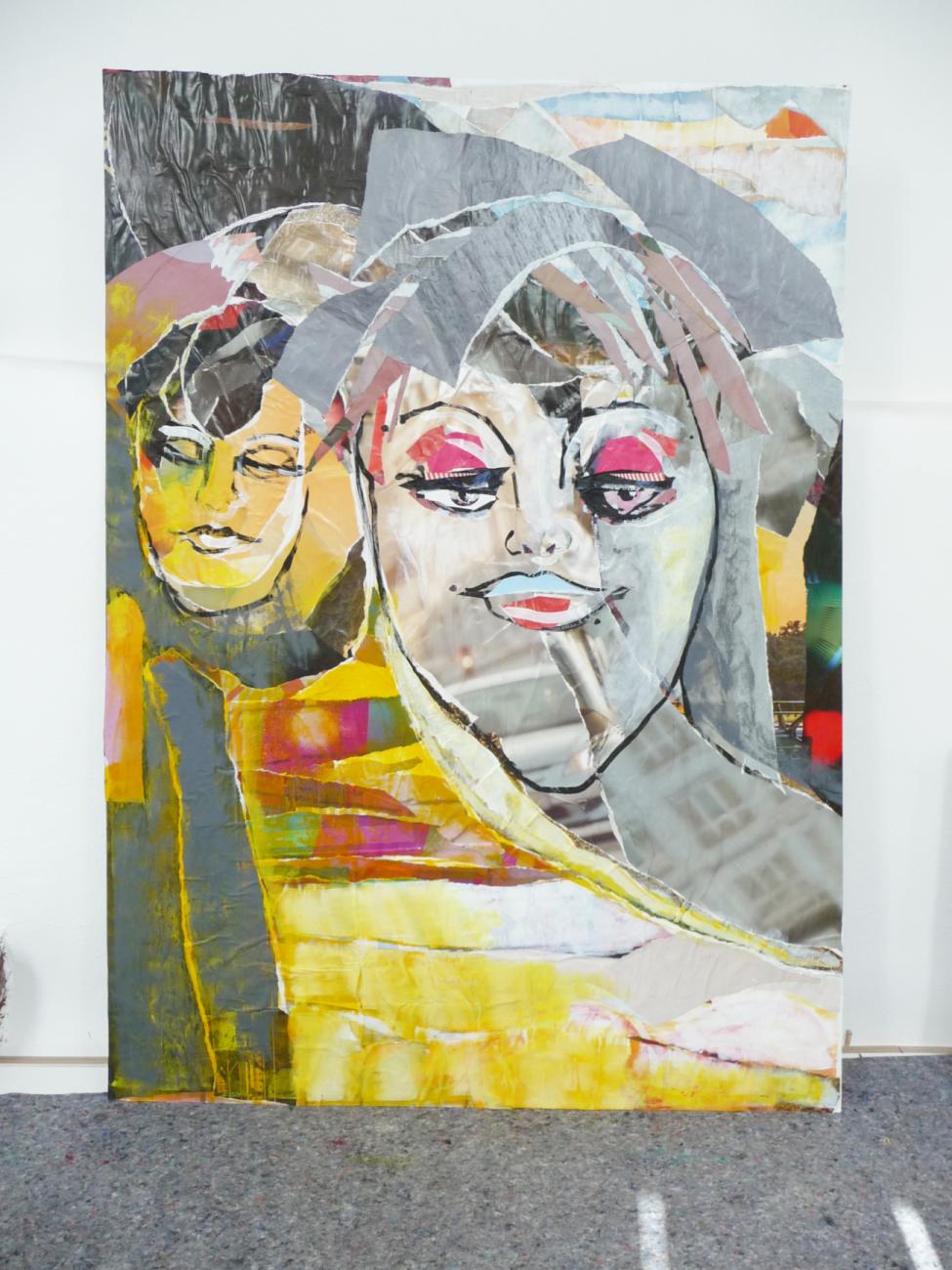 EATYOURCITY.art ANJA ROTH, Die Mamas Anja Roth