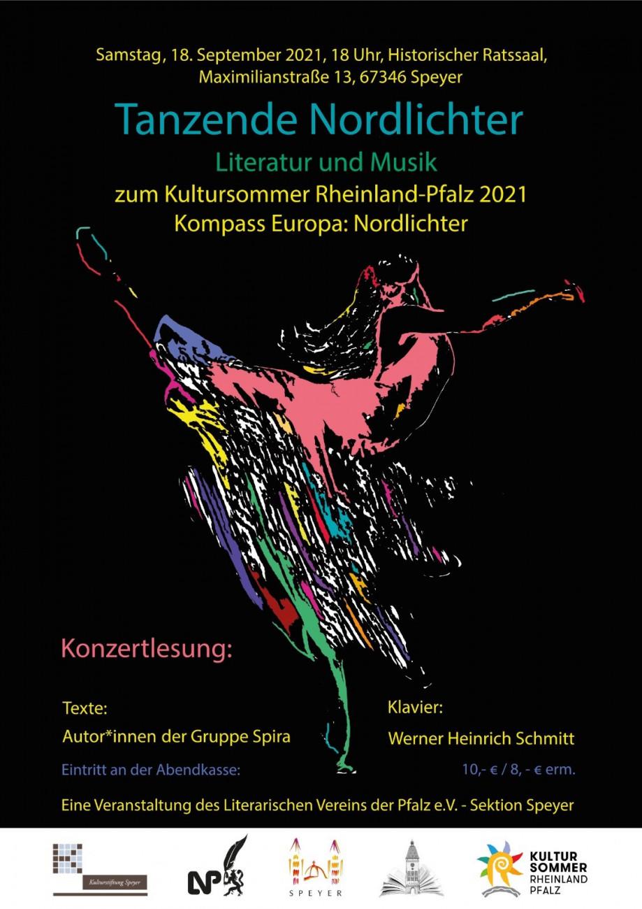 Plakat Tanzende Nordlichter