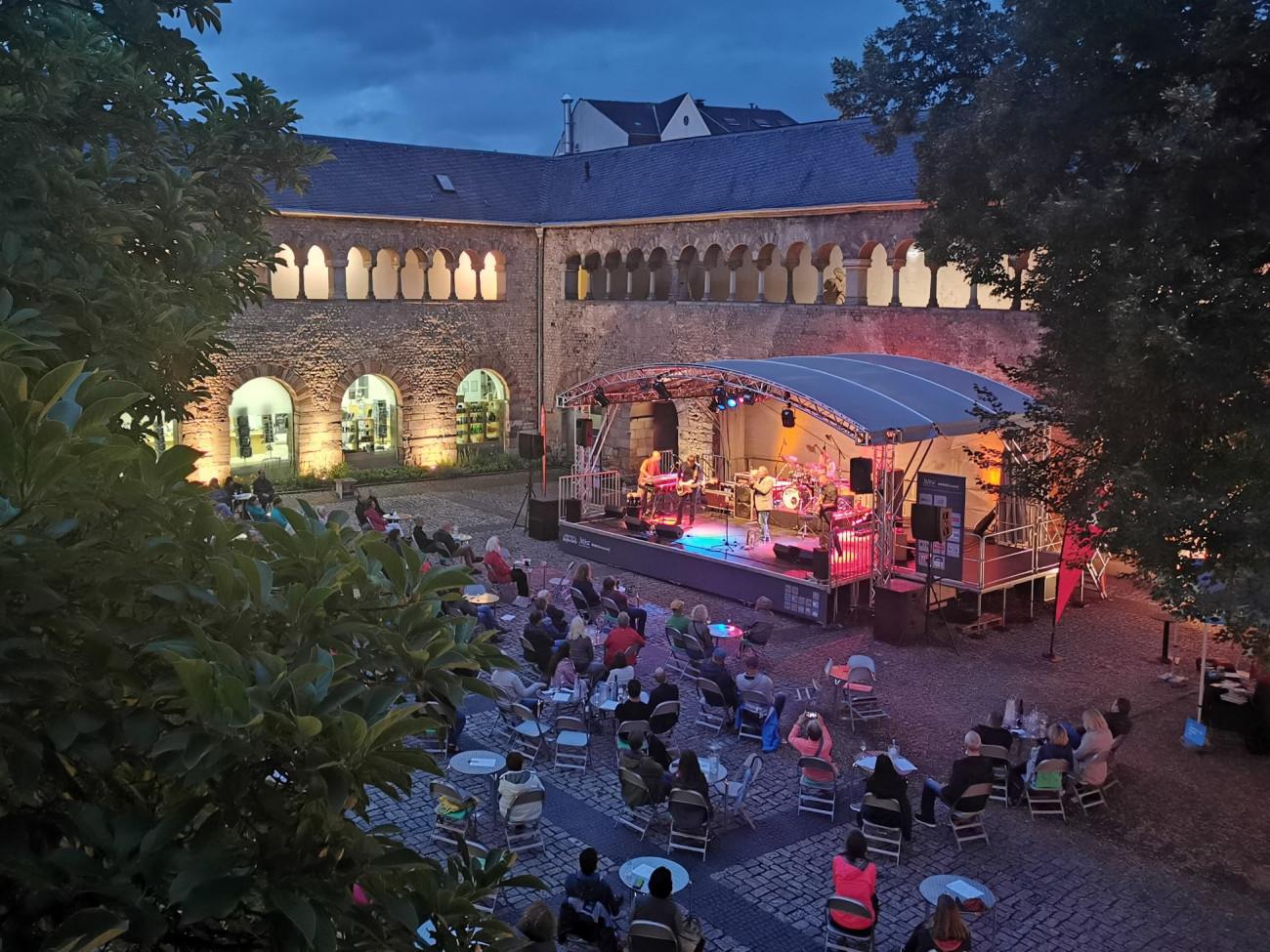 Jazz im Brunnenhof, Jazz im Brunnenhof trier-info.de