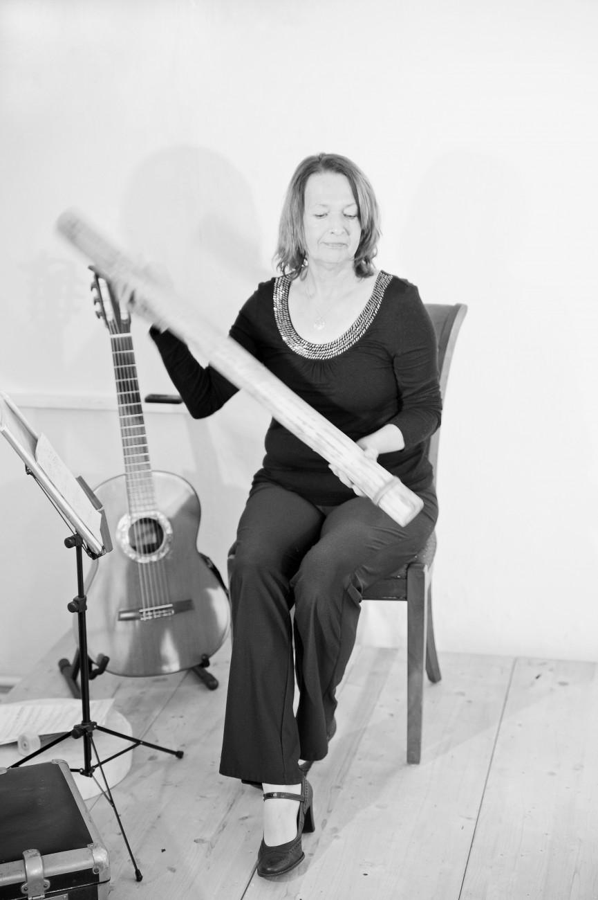 Duo Sal y Arena Silke Loettel-Forderer und Donka Naumann, Veredas – Pfade Sabine Cohausz-Velten